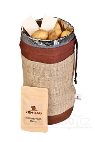 Isothermal Storage Bag With Potatoes Tom Press