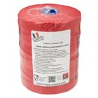Roll 1 kg of string for red smooth linen sausages