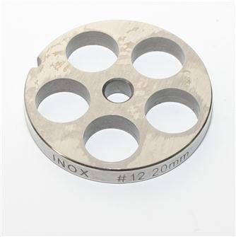 20 mm stainless steel plate for n°12 grinder