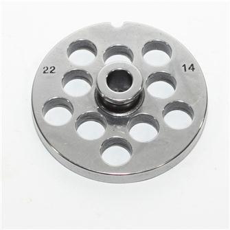14 mm plate for n° 22 grinders