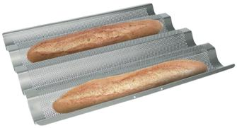 Baguette bread mould