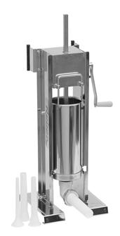 Vertical/horizontal stainless steel 5 litre sausage filler