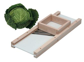 Mandolin cabbage cutter