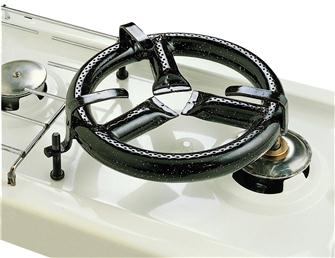 25 cm paella burner that can be adapted to a cooker