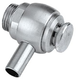 Stainless steel tap for stainless steel oil can