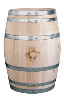 Chestnut barrel - 55 litres