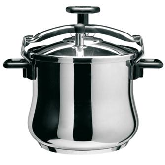 Stainless steel screw pressure cooker 6.5 litres
