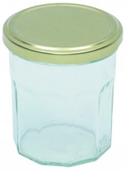 Jam jars 200 g by 12