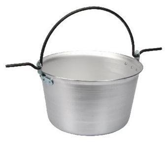 Aluminium cauldron 50 litres