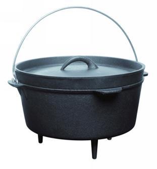 Cast iron casserole dish 3 litres