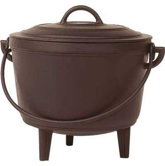 Cast iron cauldron 17 litres