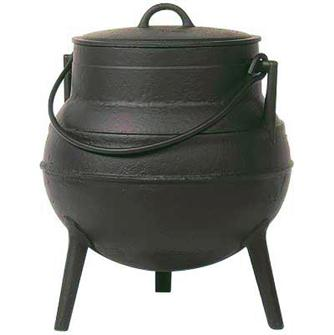 Cast iron cauldron 60 litres