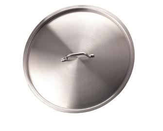 Stainless steel lid 18 cm