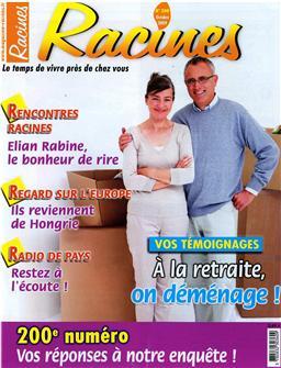 Racines n°200 (Roots n°200)