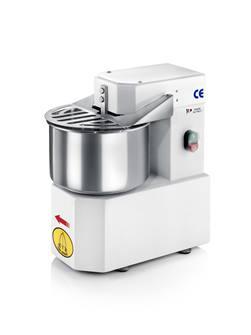 Dough kneader stainless steel vat 5 litres