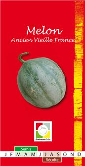 Vieille France melon seeds