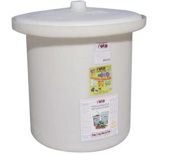 Plastic 25 litre sauerkraut pot