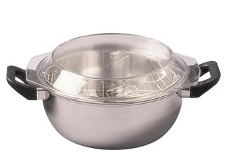 Stainless sheep chip pan 26 cm