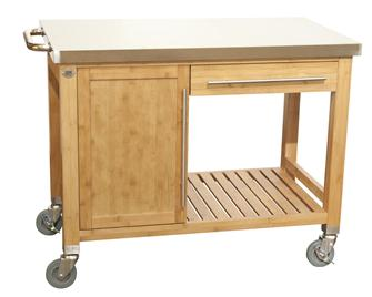 Plancha plate trolley