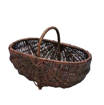 Grape gatherer´s basket in wicker 36 cm