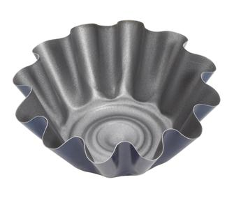Tulip shaped cake tin for brioches - 12 cm