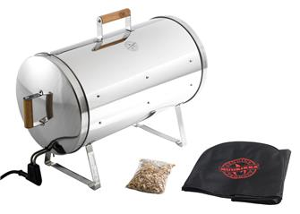 Cylinder 1200 W electric smokehouse