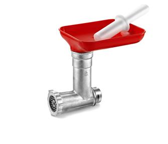 Meat mincing accessory for 390 W tomato strainer