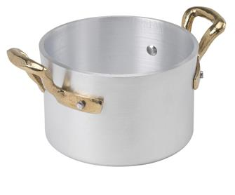 Aluminium cooking pot 10 cm