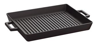Griddle with handles 26x32 cm