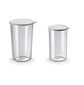 Set of two 400 and 600 ml Bamix beakers