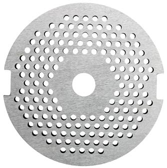 2.5 mm plate for meat grinder accessory