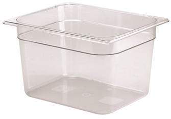 BPA free gastronorm container 1/2 in copolyester. Height 20 cm.