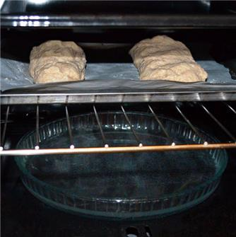 How to cook home made bread in the oven