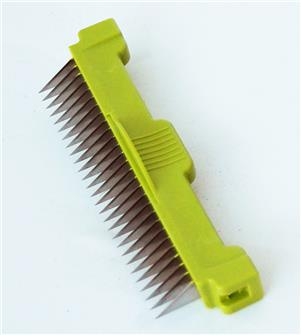 Additional 3 mm comb for a cube mandolin wire