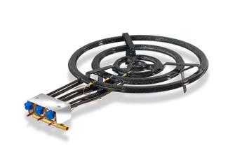 Professional paella burner 70 cm with thermocouples