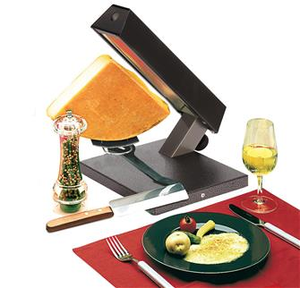 1/4 cheese raclette machine