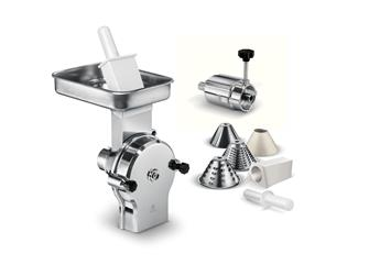 Vegetable slicer accessory for professional food processor