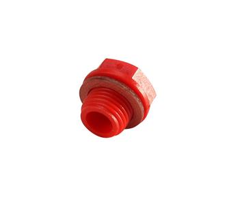 Red waterproof cap for Reber motor