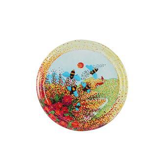 Twist-off honey Provence lids - 82 mm by 10
