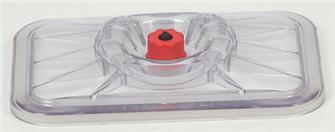 Lid for vacuum sealing rectangular 20x25 cm dishes