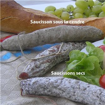 Saucisson in ashes