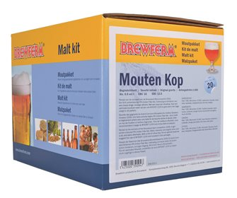 Kit malt mouten kop for 20 liters of beer