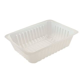 150 plastic containers - 1000 g