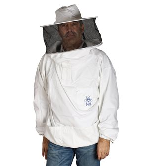 Size XXL beekeeper with integrated hat and sail.