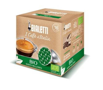 Box of 16 Bialetti Bio coffee capsules