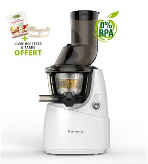 Kuving´s electric juicer with wide opening - white