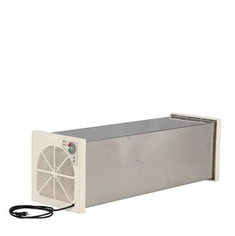 Tunnel dehydrator / dryer in stainless steel with 12 trays