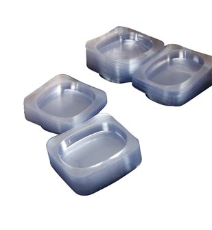 Plastic steak trays per 250