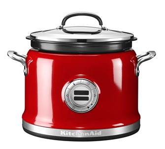 Multi cooker stainless steel 12 functions red