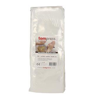 Vacuum seal bags - 15x40 cm by 100